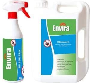 Milben-Spray gegen Bettmilben